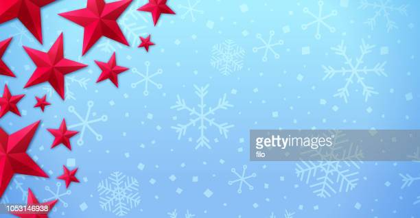 ホリデイ ・星空の背景 - クリスマスマーケット点のイラスト素材/クリップアート素材/マンガ素材/アイコン素材