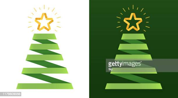 ilustrações, clipart, desenhos animados e ícones de árvore do feriado - árvore de natal