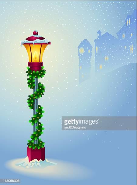 Holiday village light