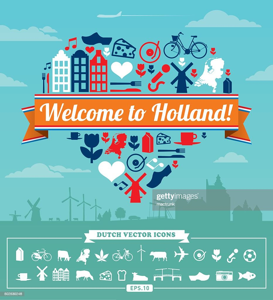 Holland vector set