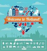 Holland vector set