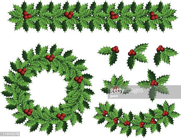 holly decoration