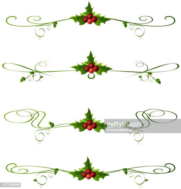 Christmas Page Border.World S Best Christmas Page Borders Stock Illustrations
