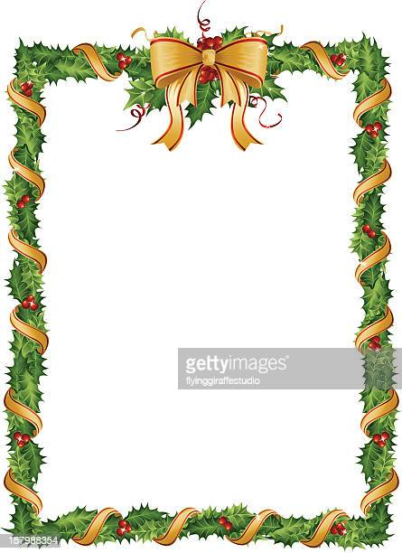Holly Garland Frame