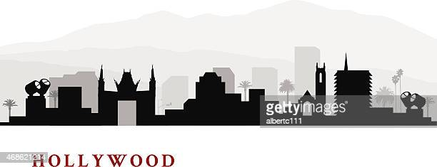 Hollywood California Cityscape