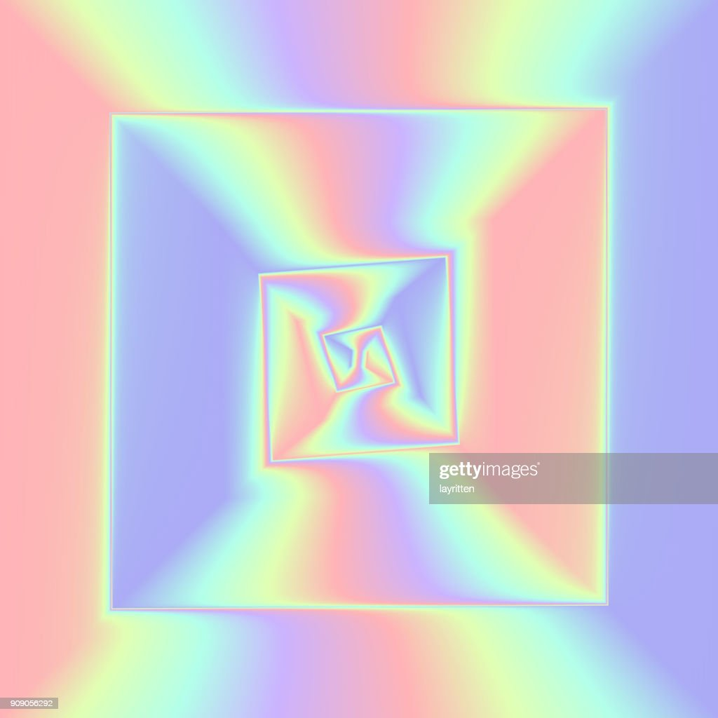 Hologram gradient backgrounds. Colorful holographic abstract vector
