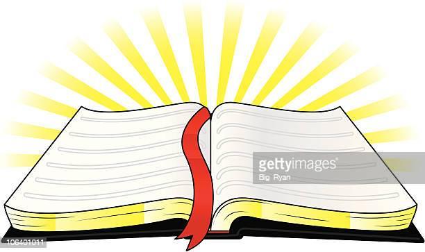 ilustrações, clipart, desenhos animados e ícones de bíblia sagrada - bíblia