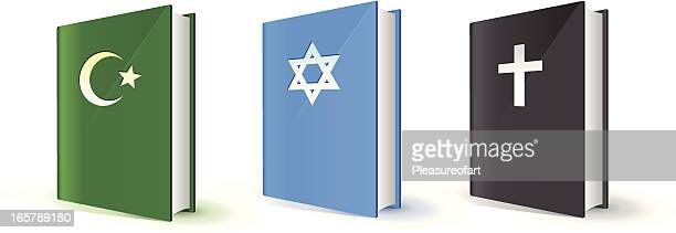 Holy books of three religions