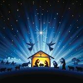 Holy Night Scene