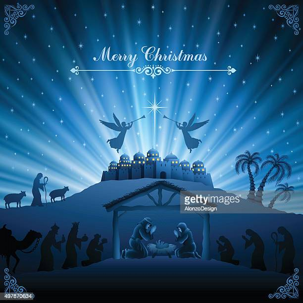 Holy Night Scene