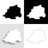 Holy See maps for design - Blank, white and black backgrounds