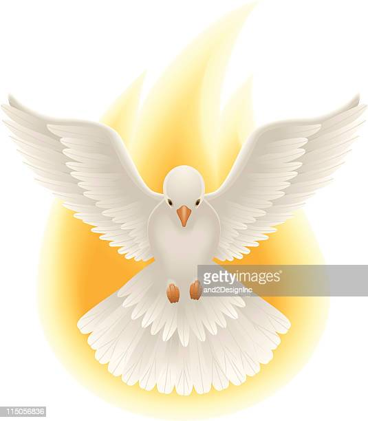 holy spirit art - spirituality stock illustrations, clip art, cartoons, & icons