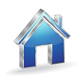 Home 3d 3d Glossy Vector Icon Design