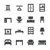 Home and Furniture Icons - Acme Series