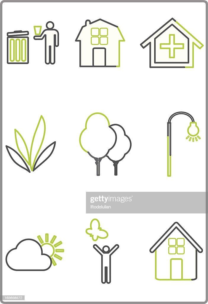 Home Garden Icon 100