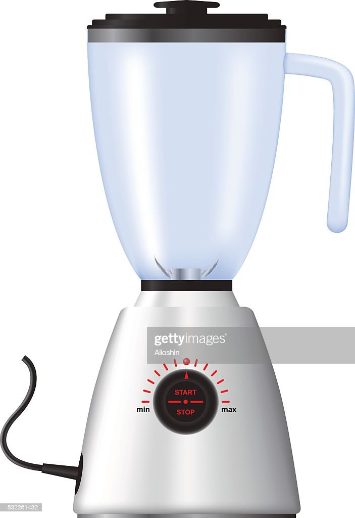 Home appliances. Electric blender. Isolated on white background.