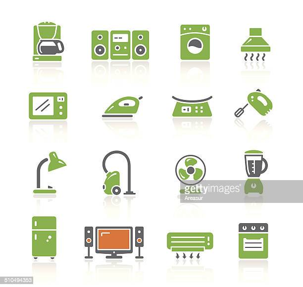home appliances icons | spring series - exhaust fan stock illustrations, clip art, cartoons, & icons