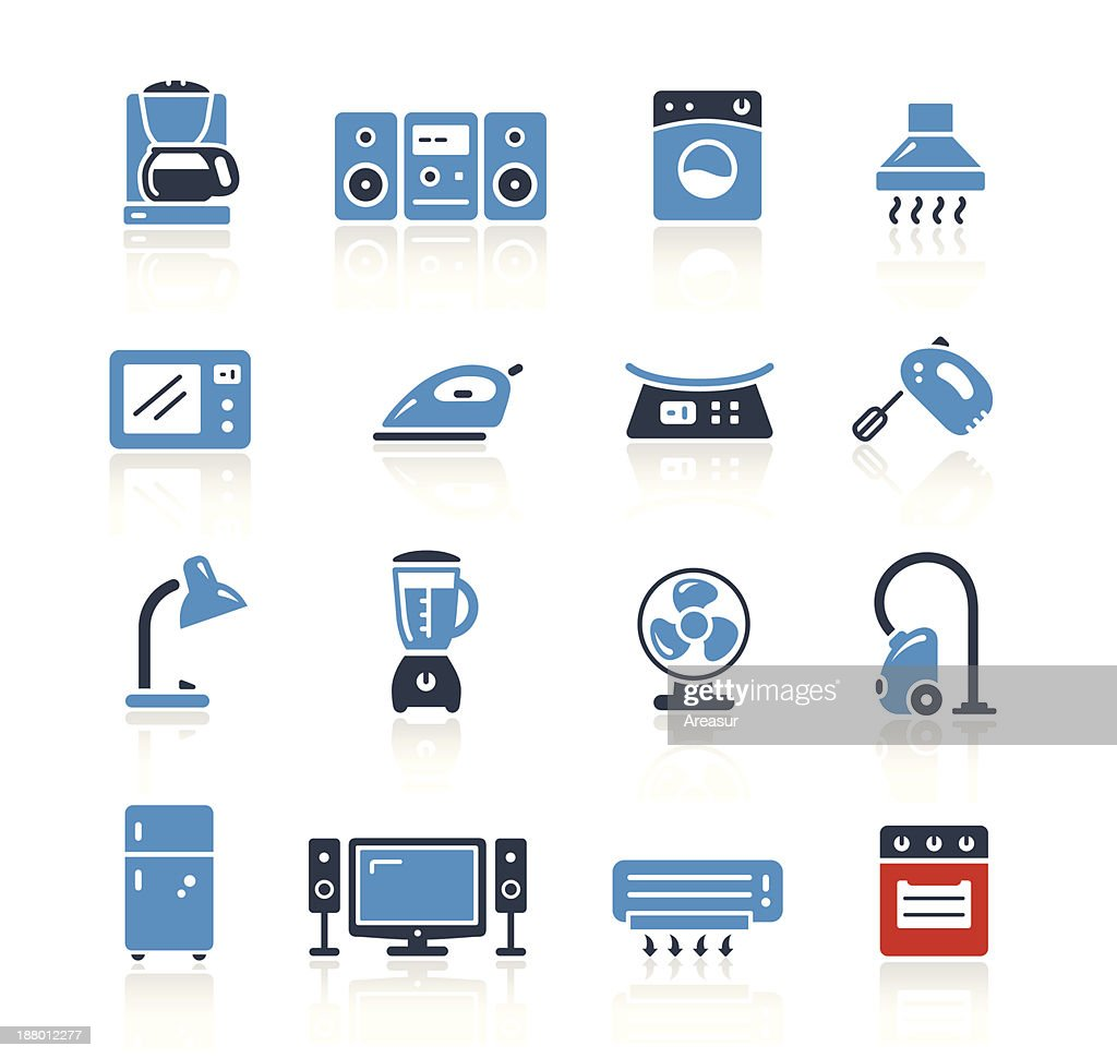 Home Appliances Icons Two Color | Pro Series