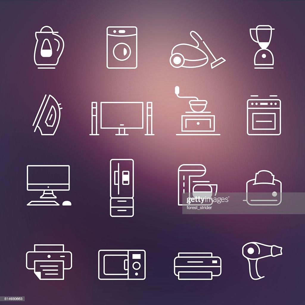 Home appliances symbol