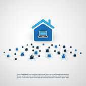 Home Automation, Internet Of Things Design Concept
