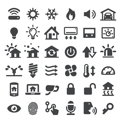 Home Automation Vector Icons - gettyimageskorea