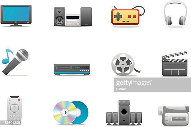 Home AV icons | Premium Matte series