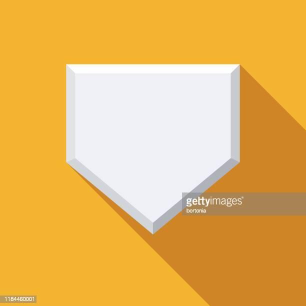 ホームベース野球アイコン - スポーツ ホームベース点のイラスト素材/クリップアート素材/マンガ素材/アイコン素材