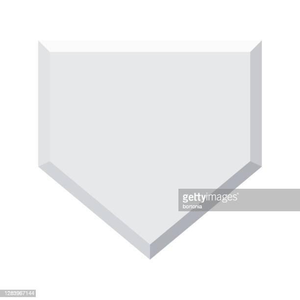 透明な背景のホームベースアイコン - スポーツ ホームベース点のイラスト素材/クリップアート素材/マンガ素材/アイコン素材