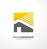 Home construction vector design