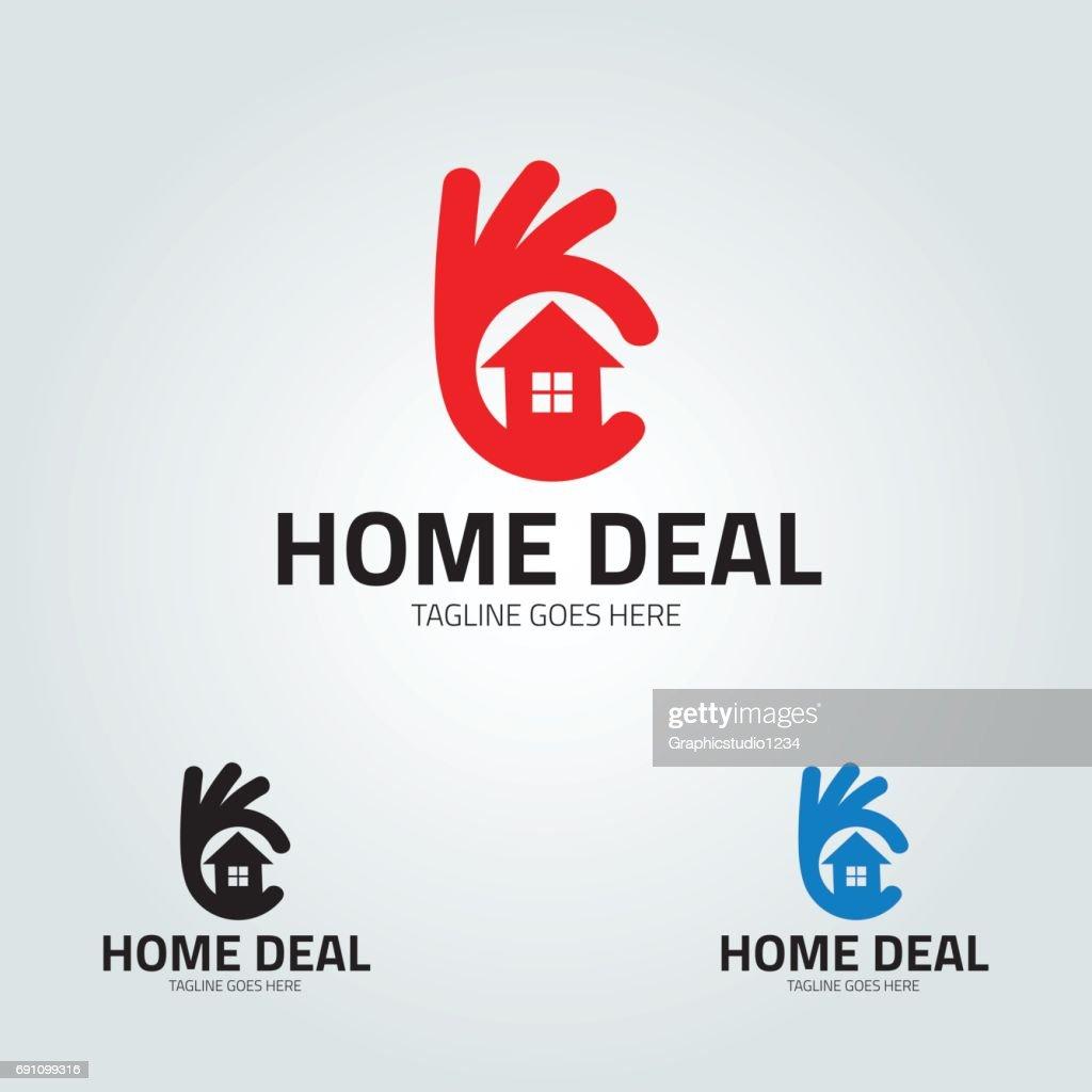 Home deal vector