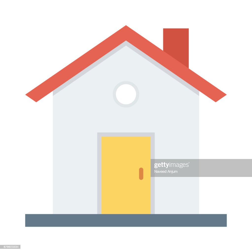 home flat vector icon