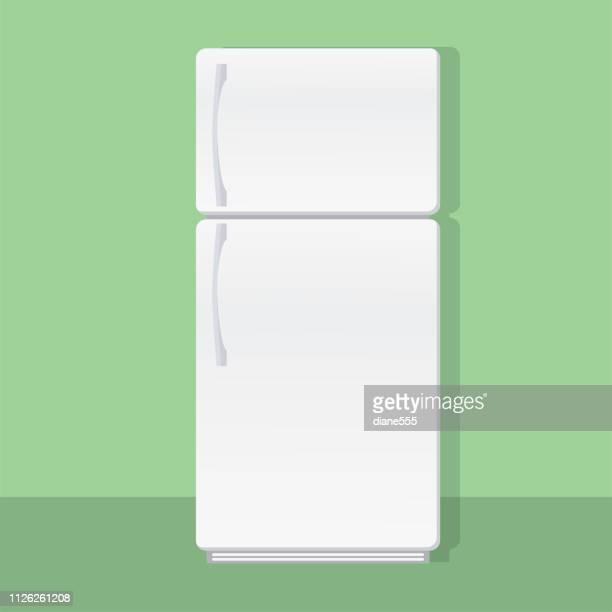 ホーム キッチン冷蔵庫 - 冷蔵庫点のイラスト素材/クリップアート素材/マンガ素材/アイコン素材