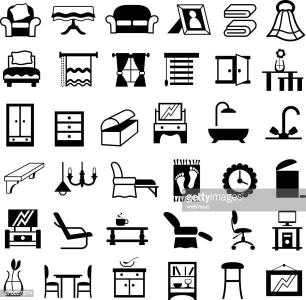 Home Furnishings Icons