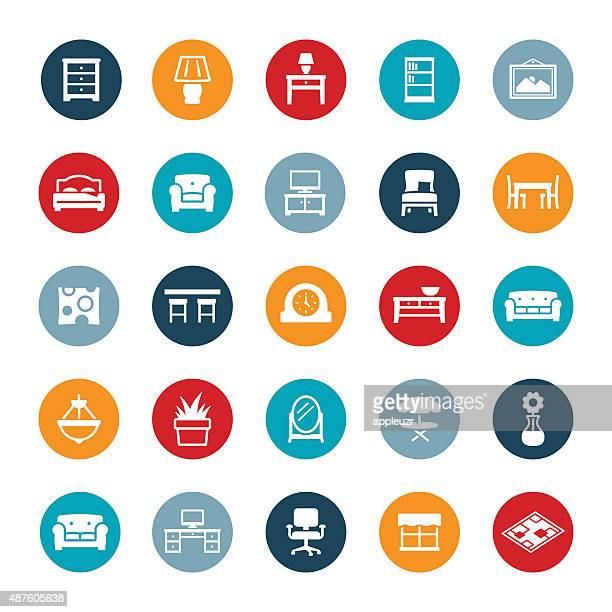Home furniture and Decor Icons