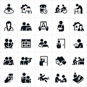 Home Health Care Icons