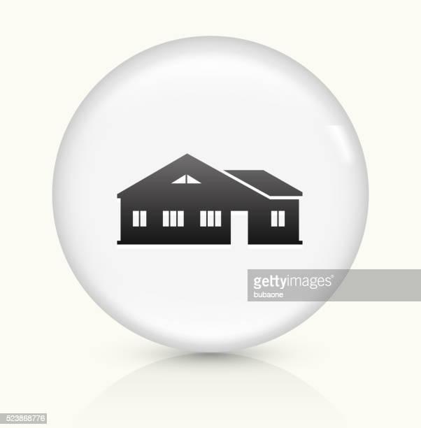 Home icon on white round vector button