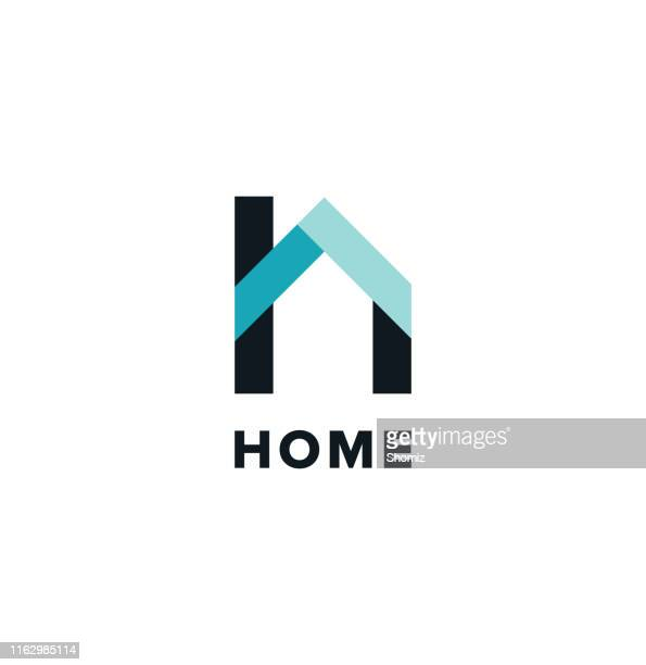 home icon - roof stock illustrations