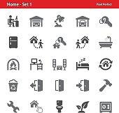 Home Icons - Set 1