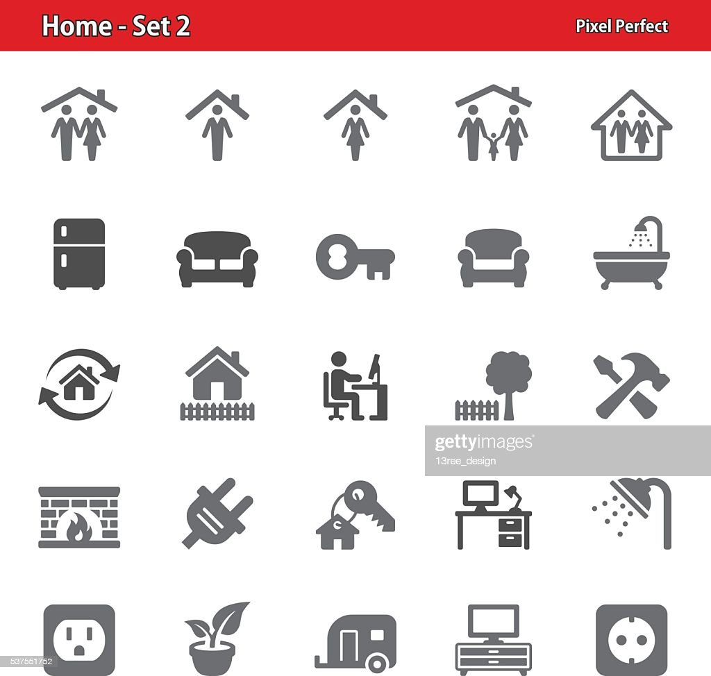 Home Icons - Set 2
