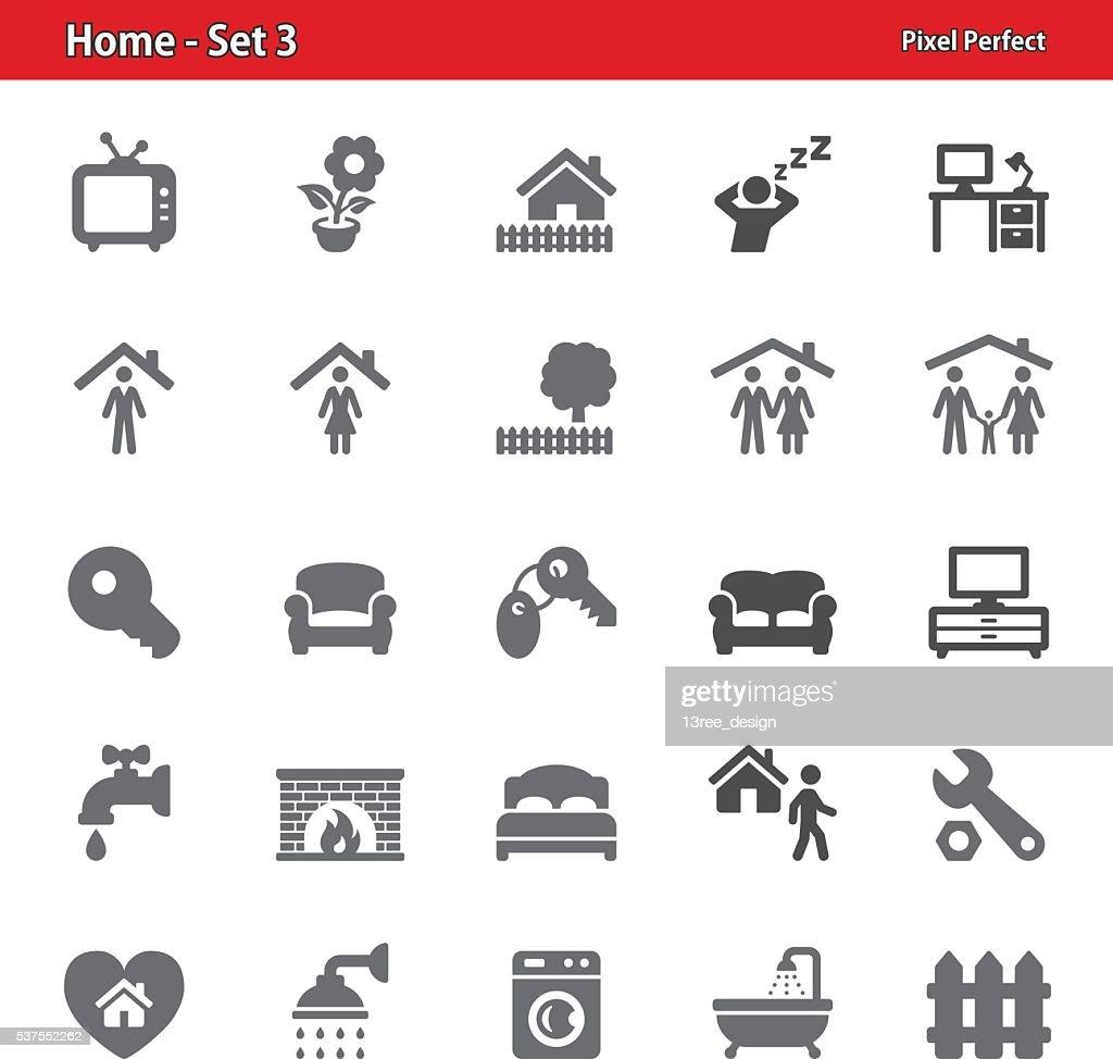 Home Icons - Set 3
