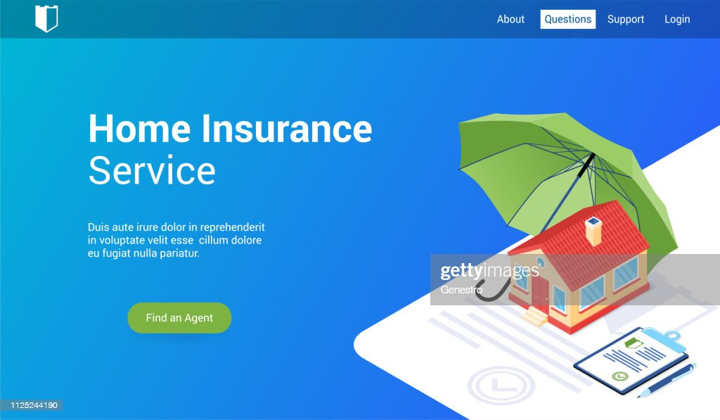 home insurance lp template