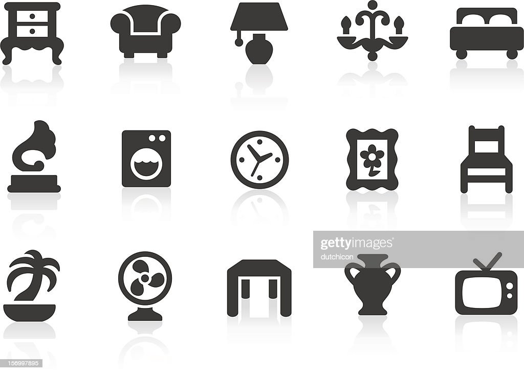Home Interior icons