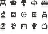 Home Interior icons