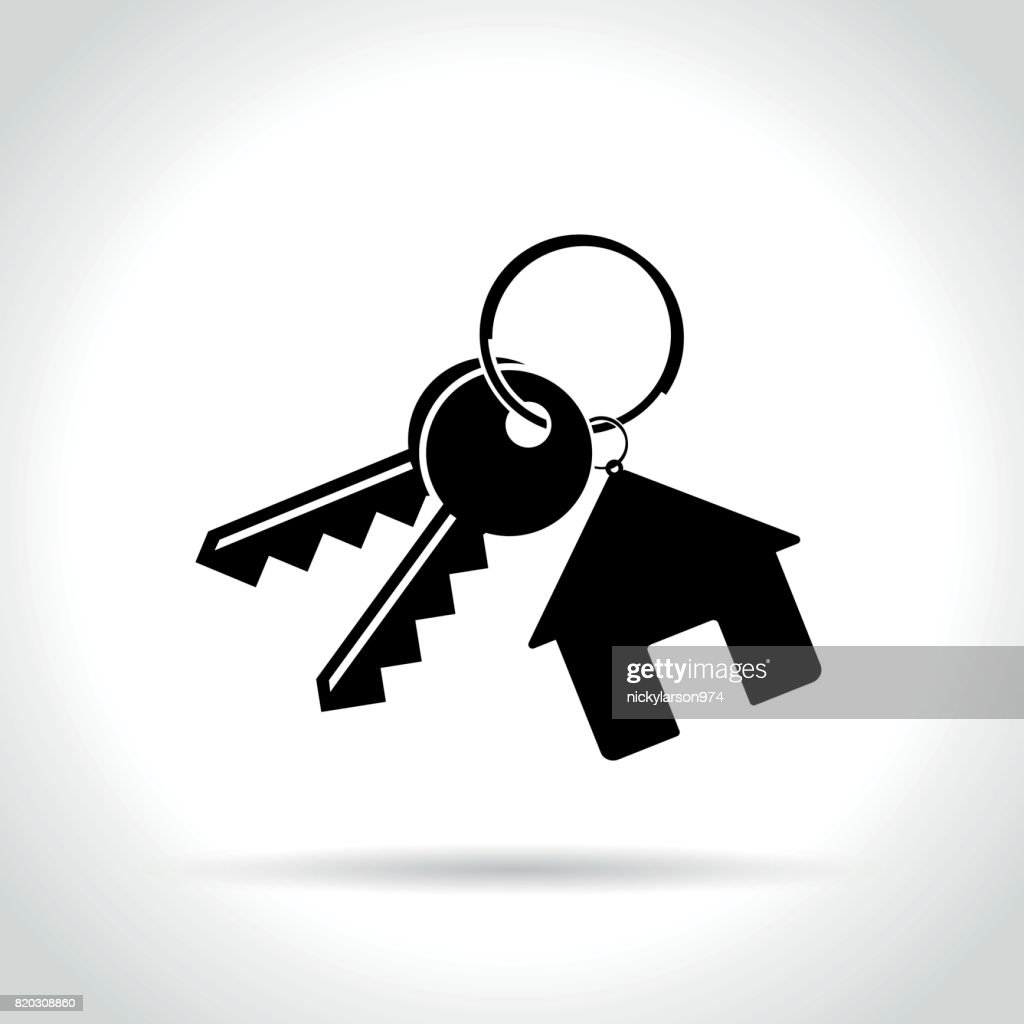 home keys icon on white background