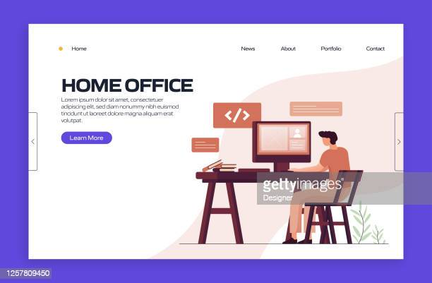 82 Small Office High Res Vector Graphics Getty Images