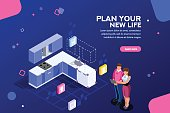 Home Planner Web Banner Template