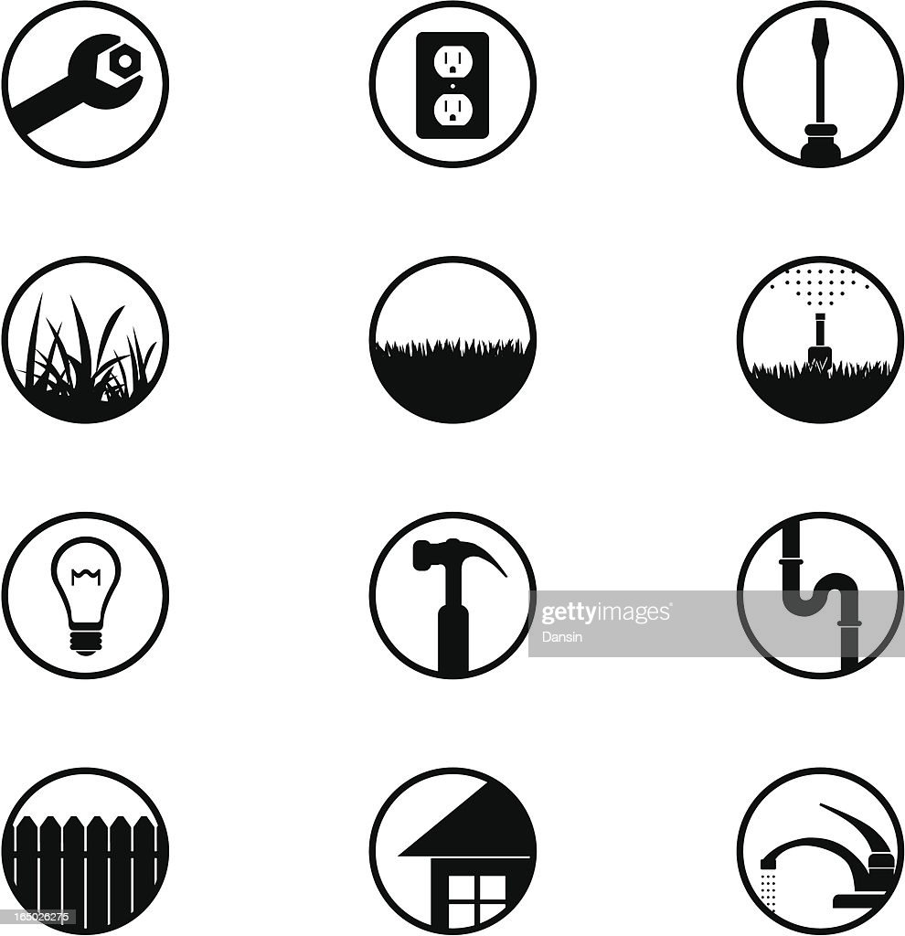 Home Repair Icons (part 1)