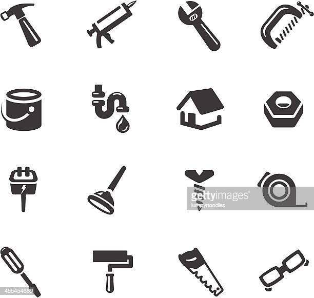 Home Reparatur Symbole