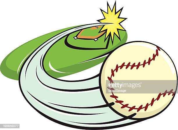 home run - home run stock illustrations