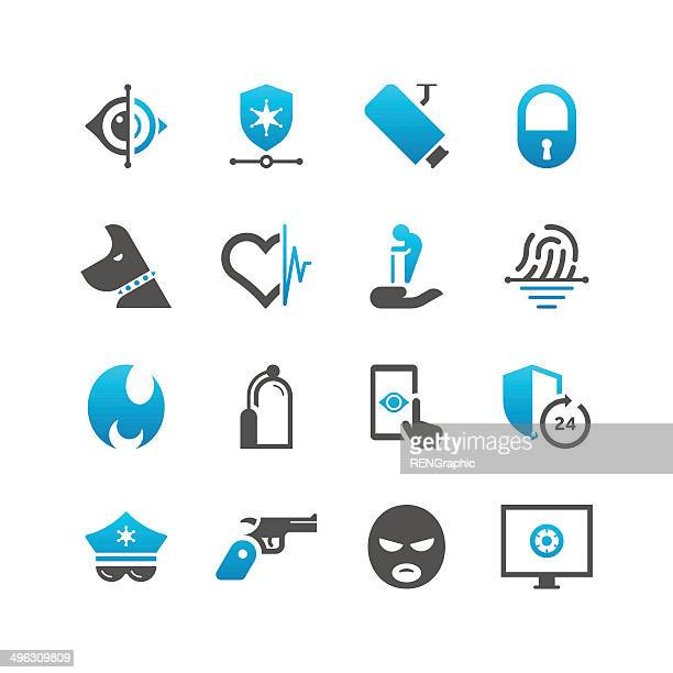 Home Security & Care Icon Set | Concise Series